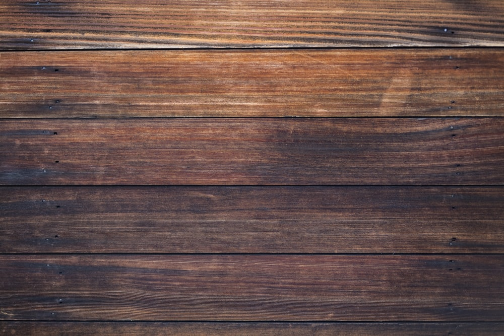 brown wooden surface