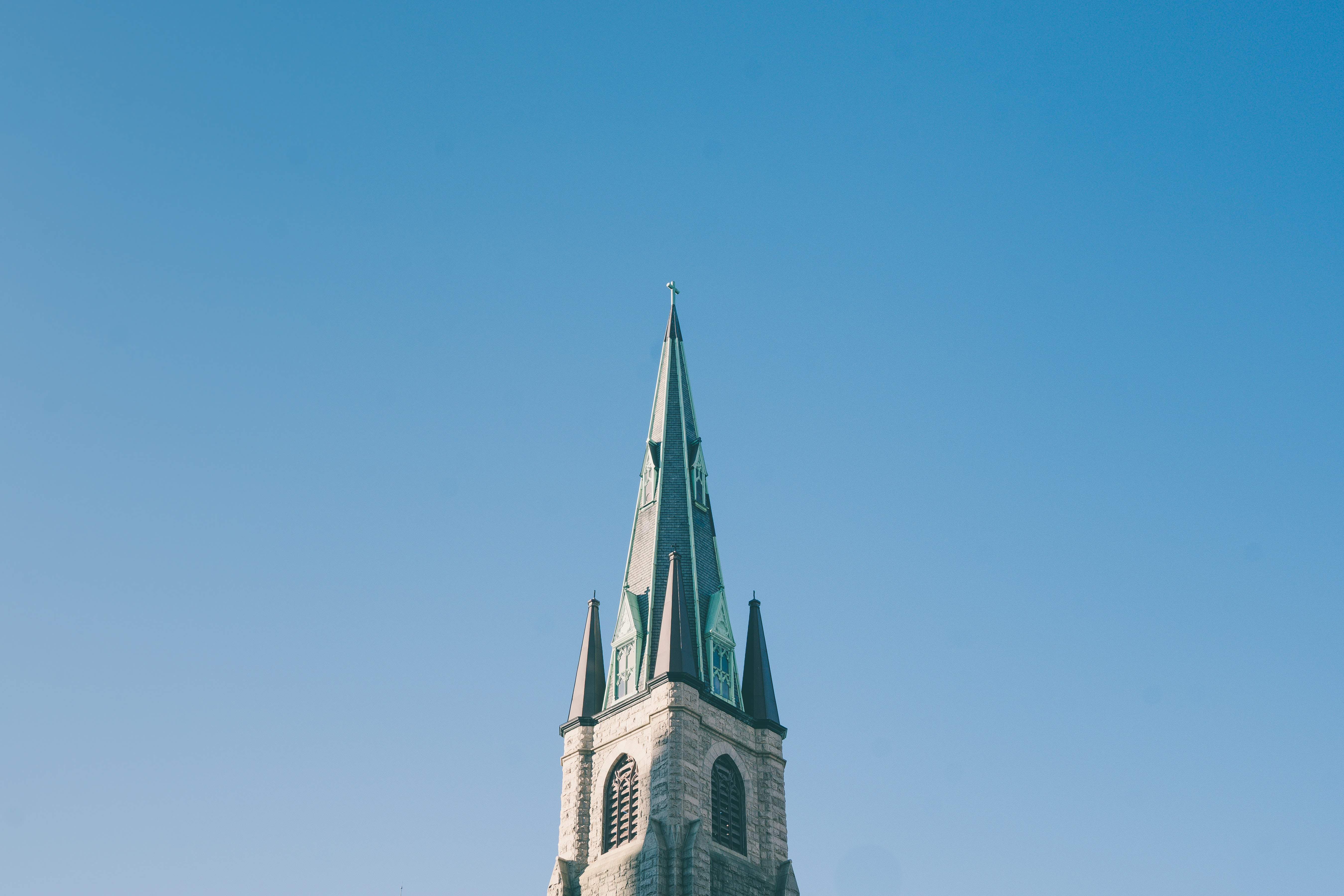 architectural photography of cathedral