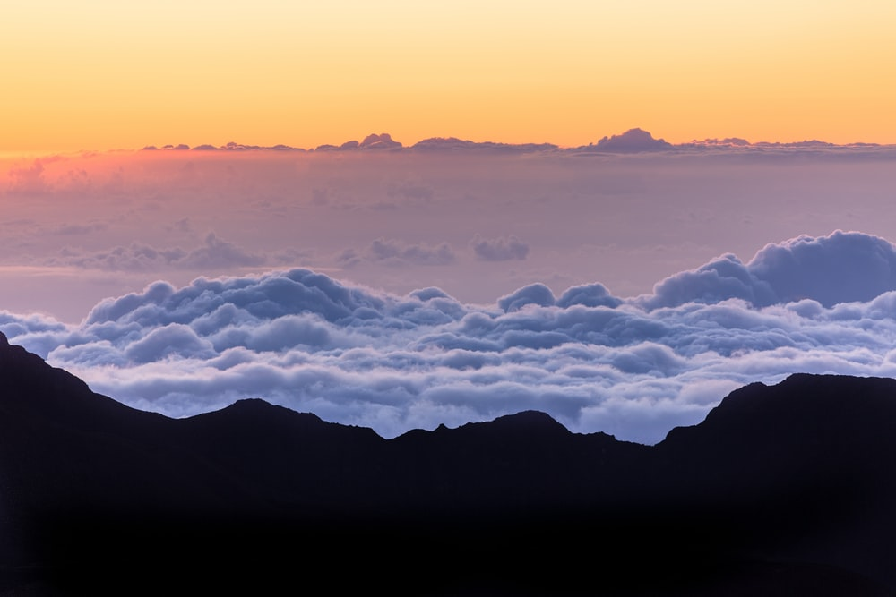 sea of clouds