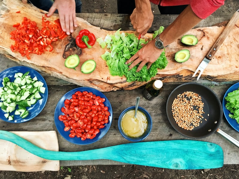 You can take a cooking class as a team building event in Jacksonville