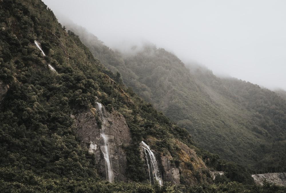 waterfall taken at daytime