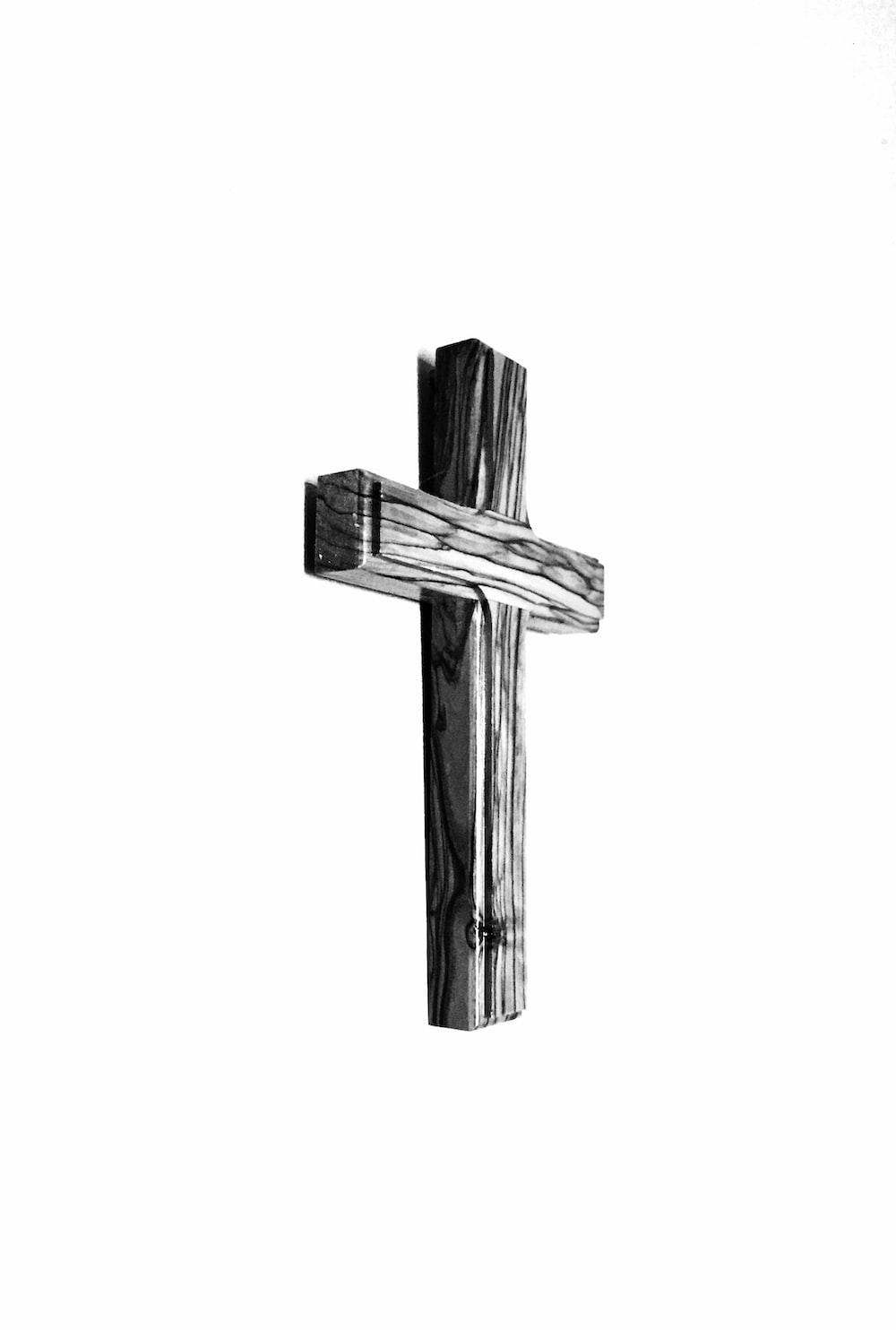 wooden cross illustration