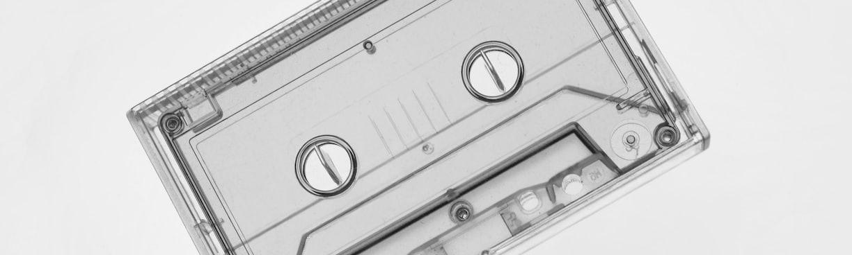 clear cassette videotape
