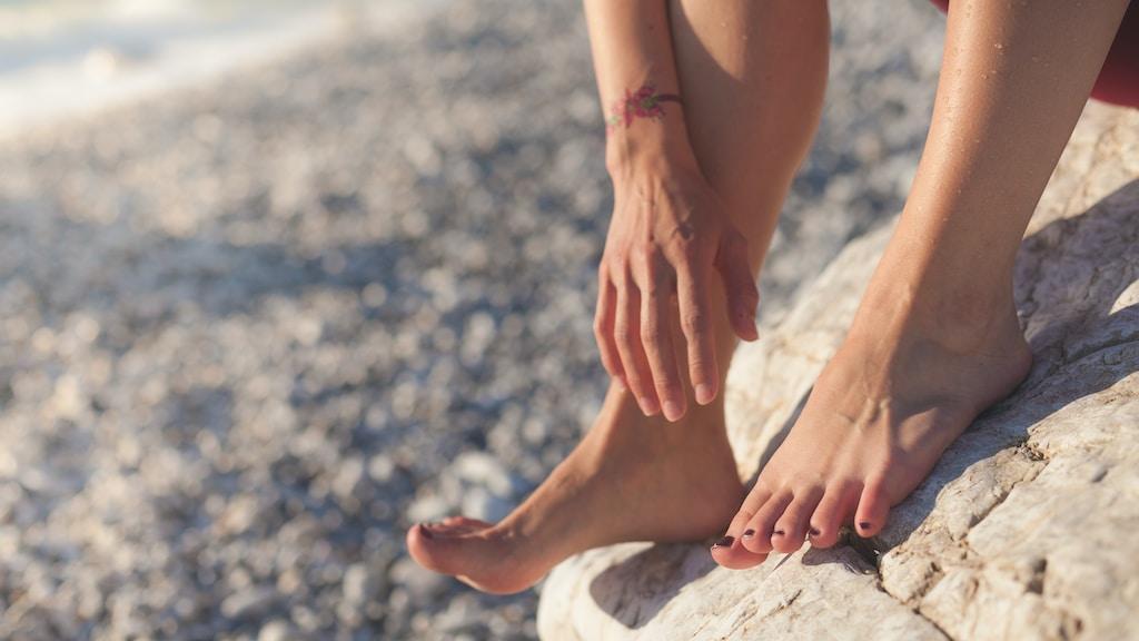 להיפטר מריח רע בכפות הרגליים