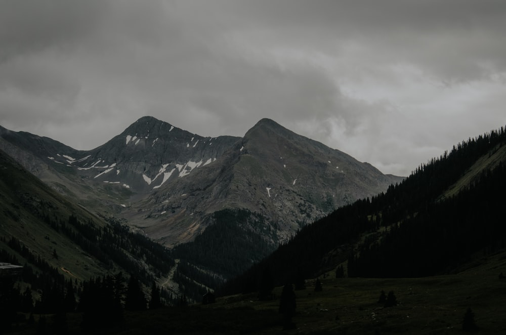 in distant mountain