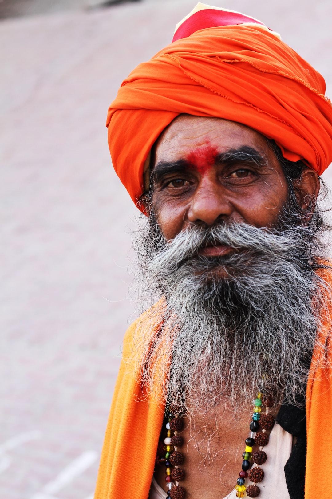 Met this yogi in Varanasi