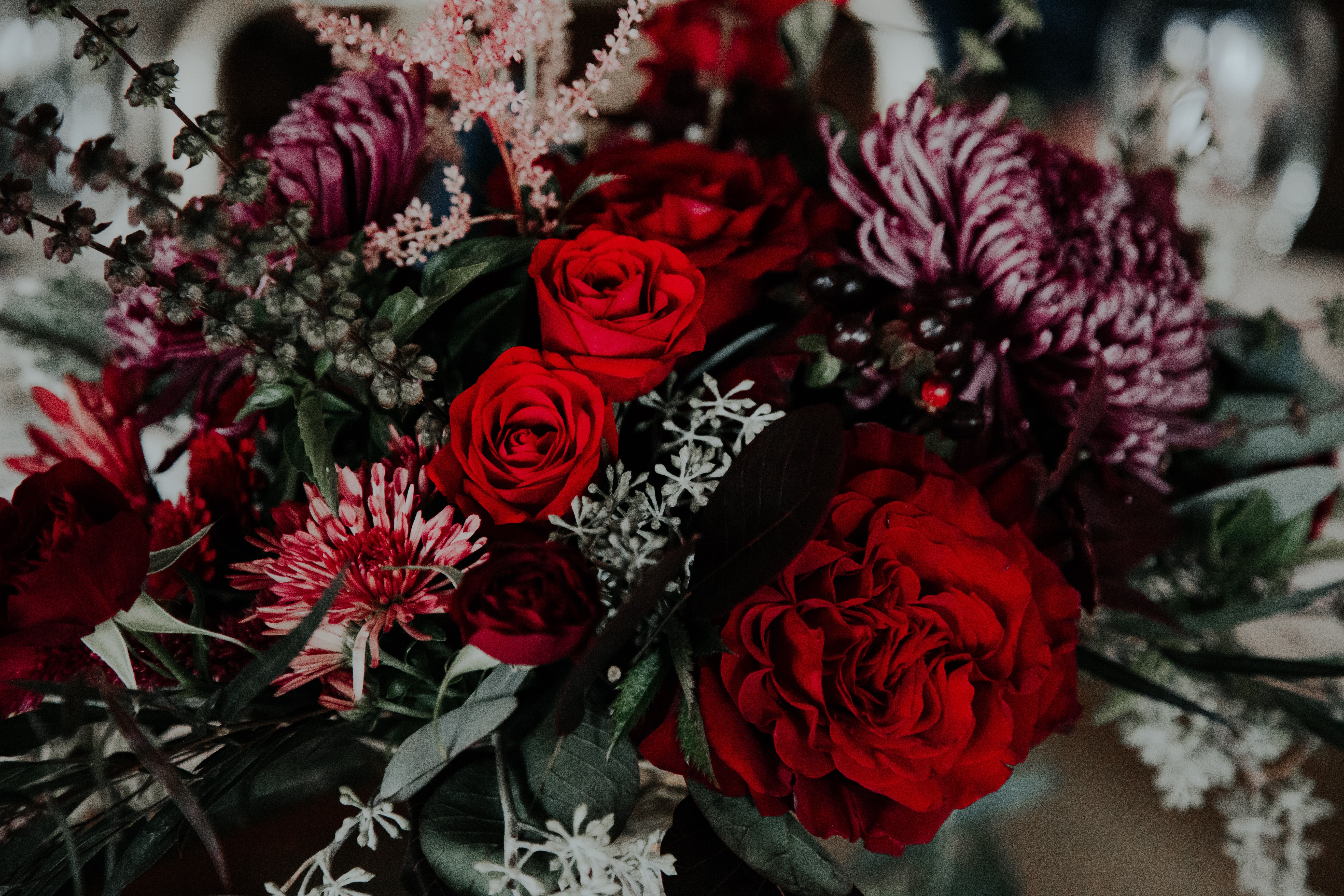 photo of assorted flowers