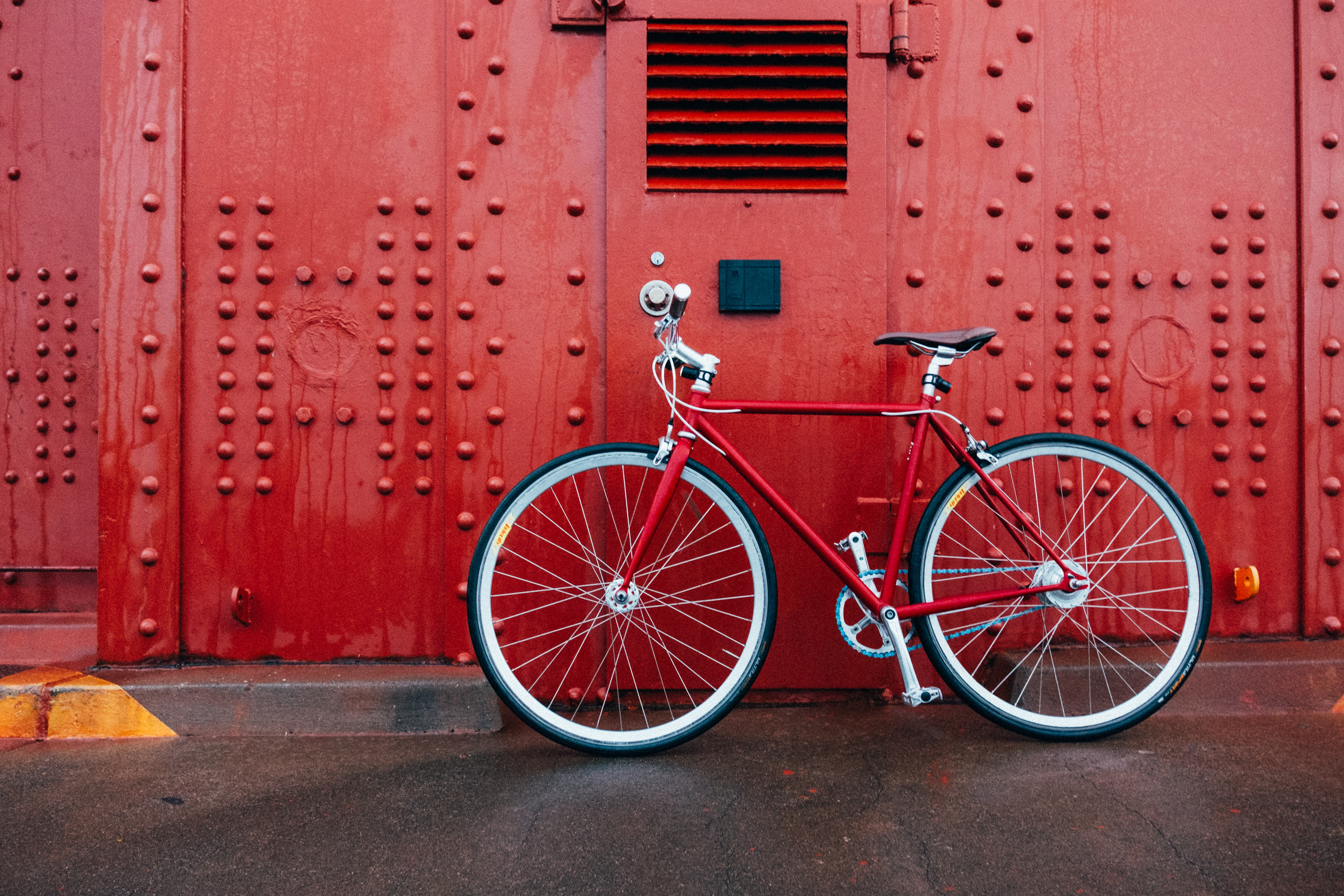 red mountain bicycle