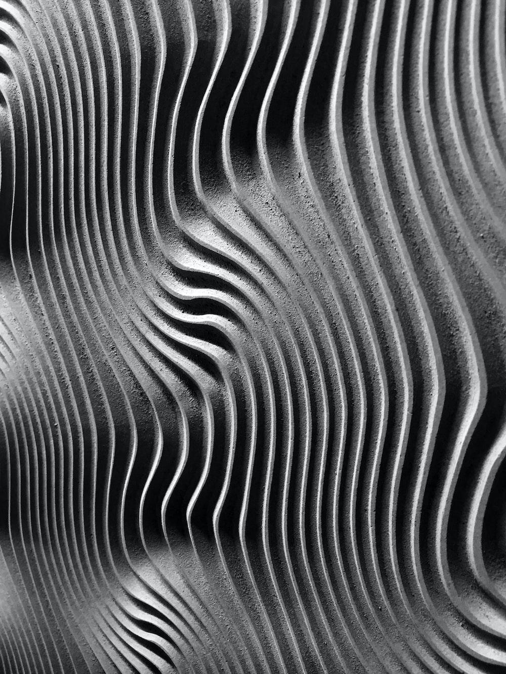 gray spiral artwork
