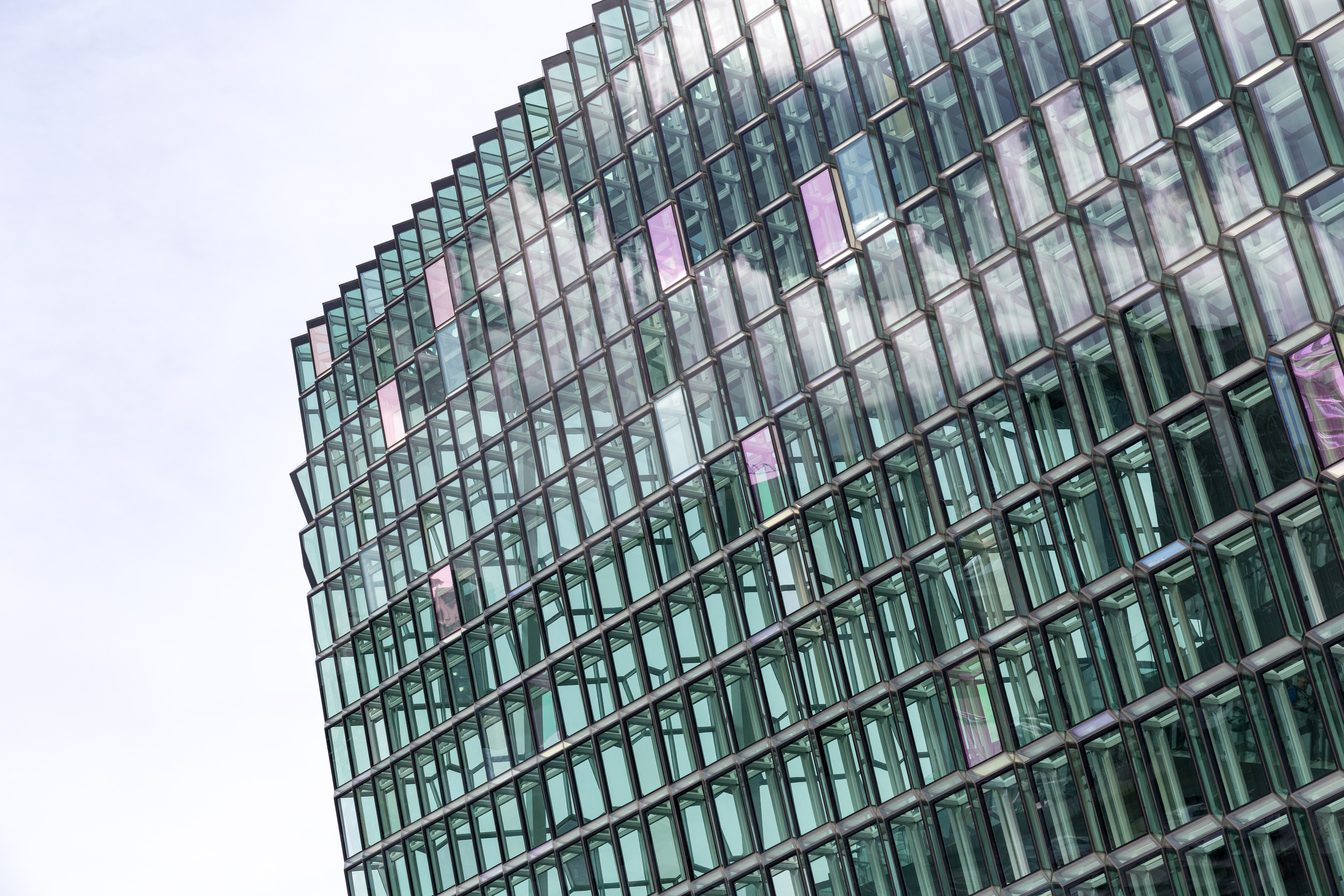 glass wall building