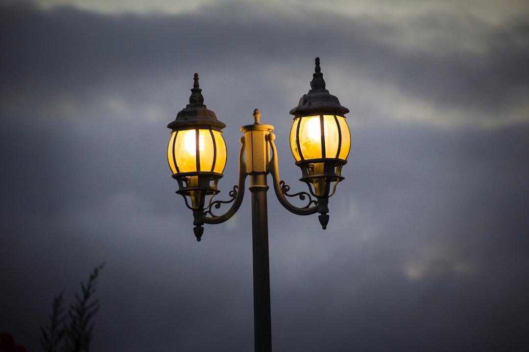 Luz en la calle