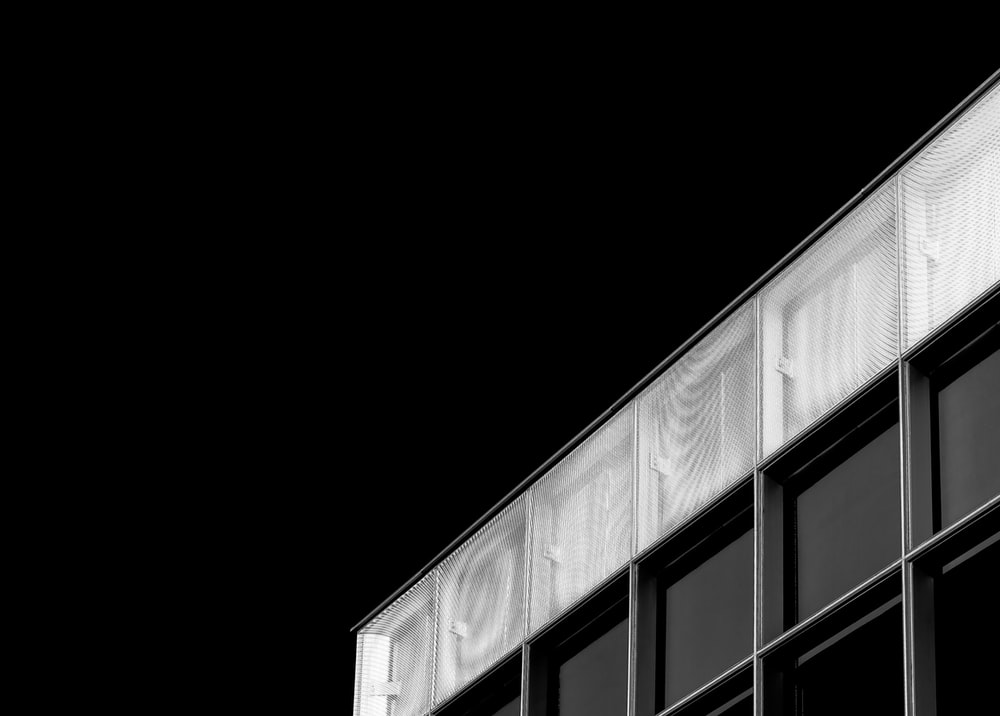 grey and white billboard low-angle photography