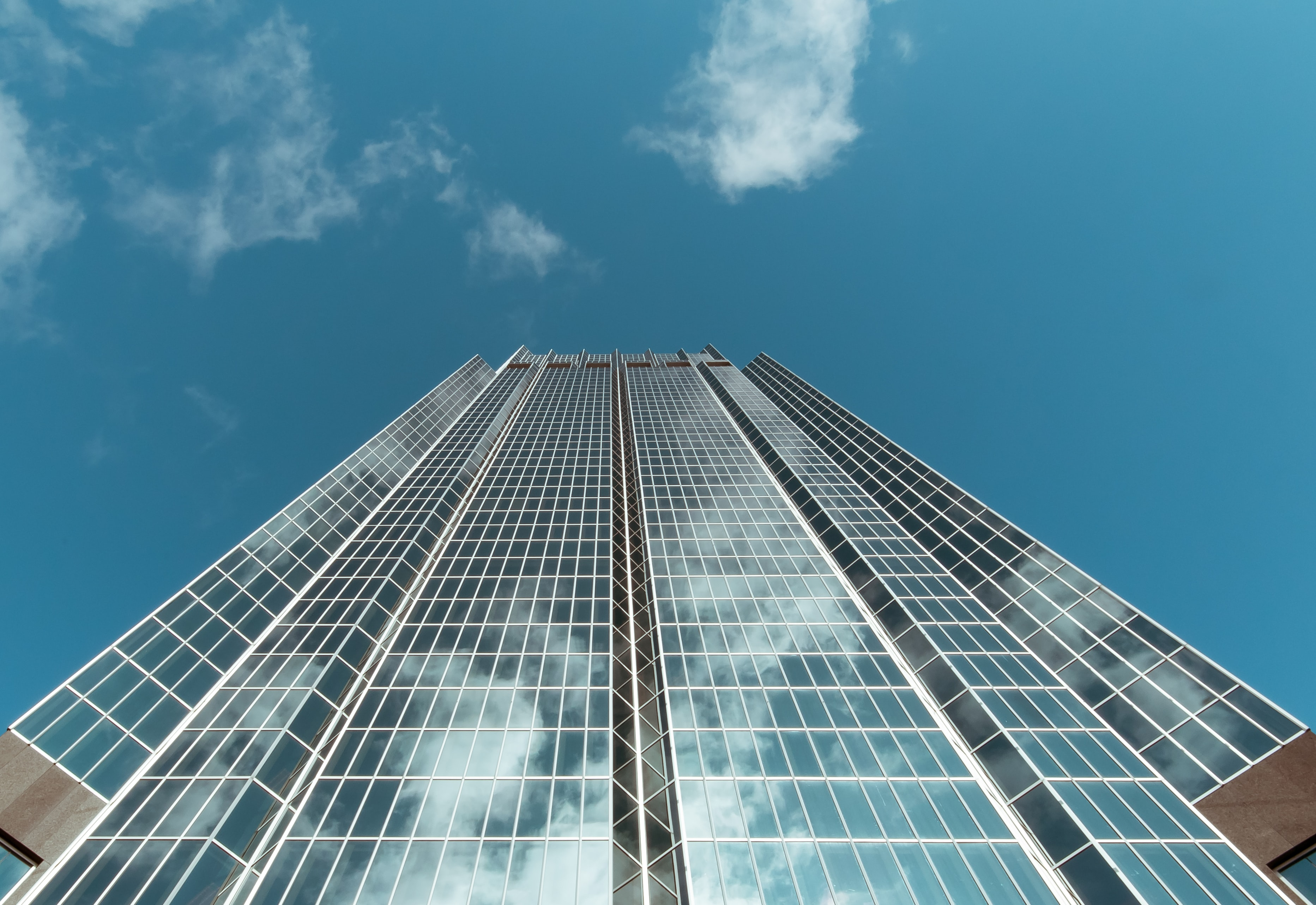 worm's eye view of high rise building during daytime
