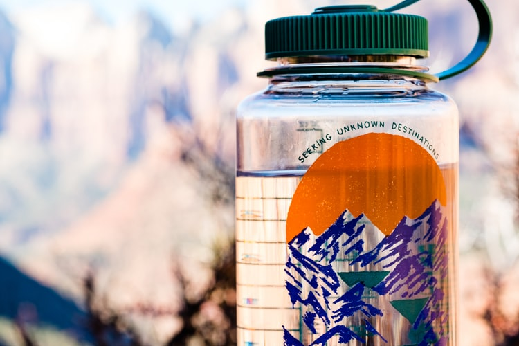 hiking essentials food and water