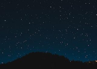 photo of clear sky full of stars