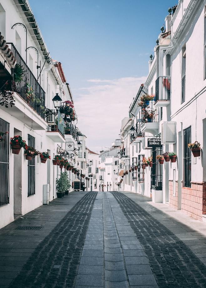 Spanish Streets of Mijas