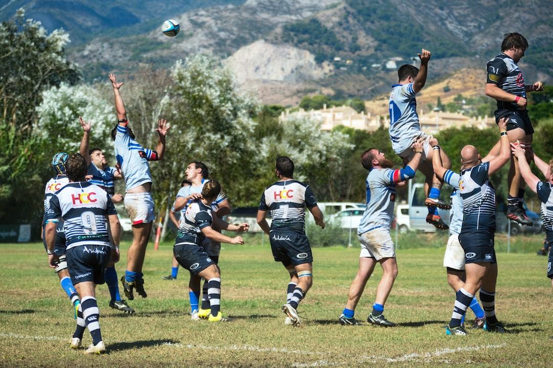 Partido de rugby jugado entre el Trocadero Marbella Rugby y el Olímpico de Pozuelo RC, en el Bahia's Park de Marbella.