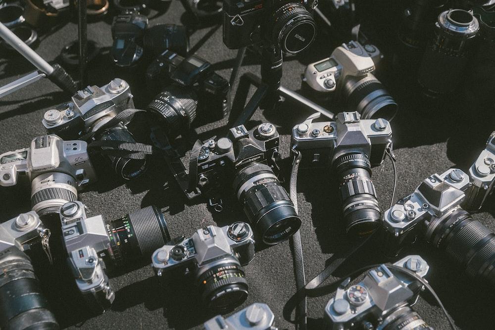 assorted-brand bridge cameras