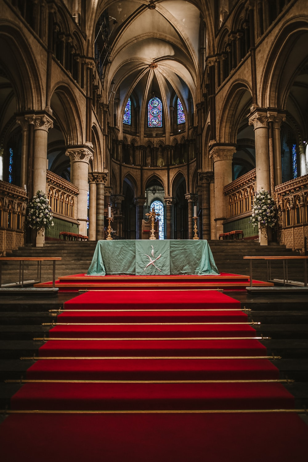 photo of interior of cathedral