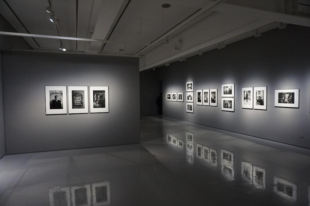photo frames inside building