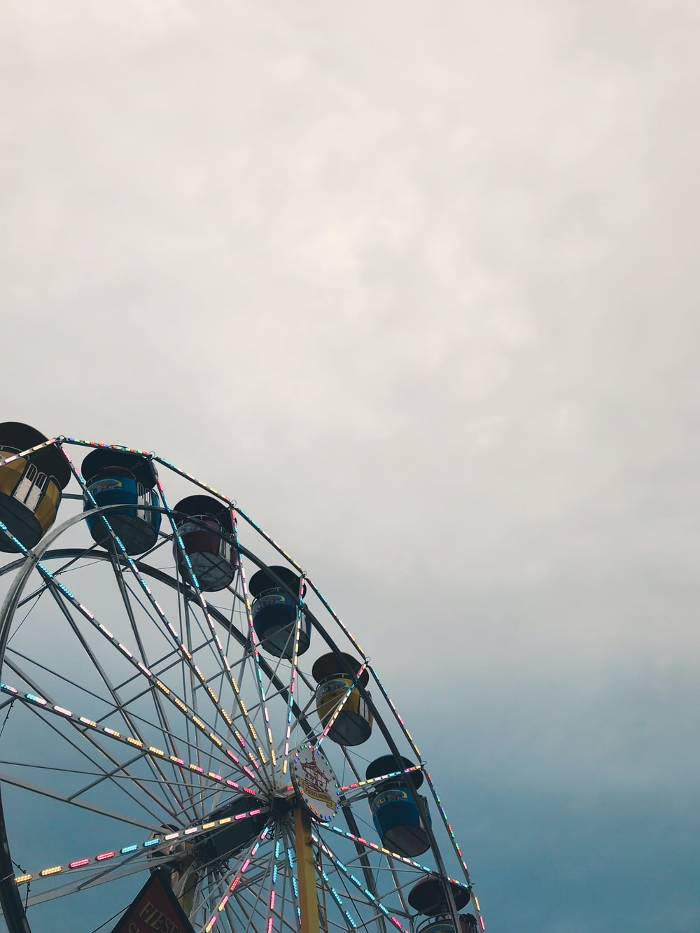 low angle photo of Ferrie's wheel