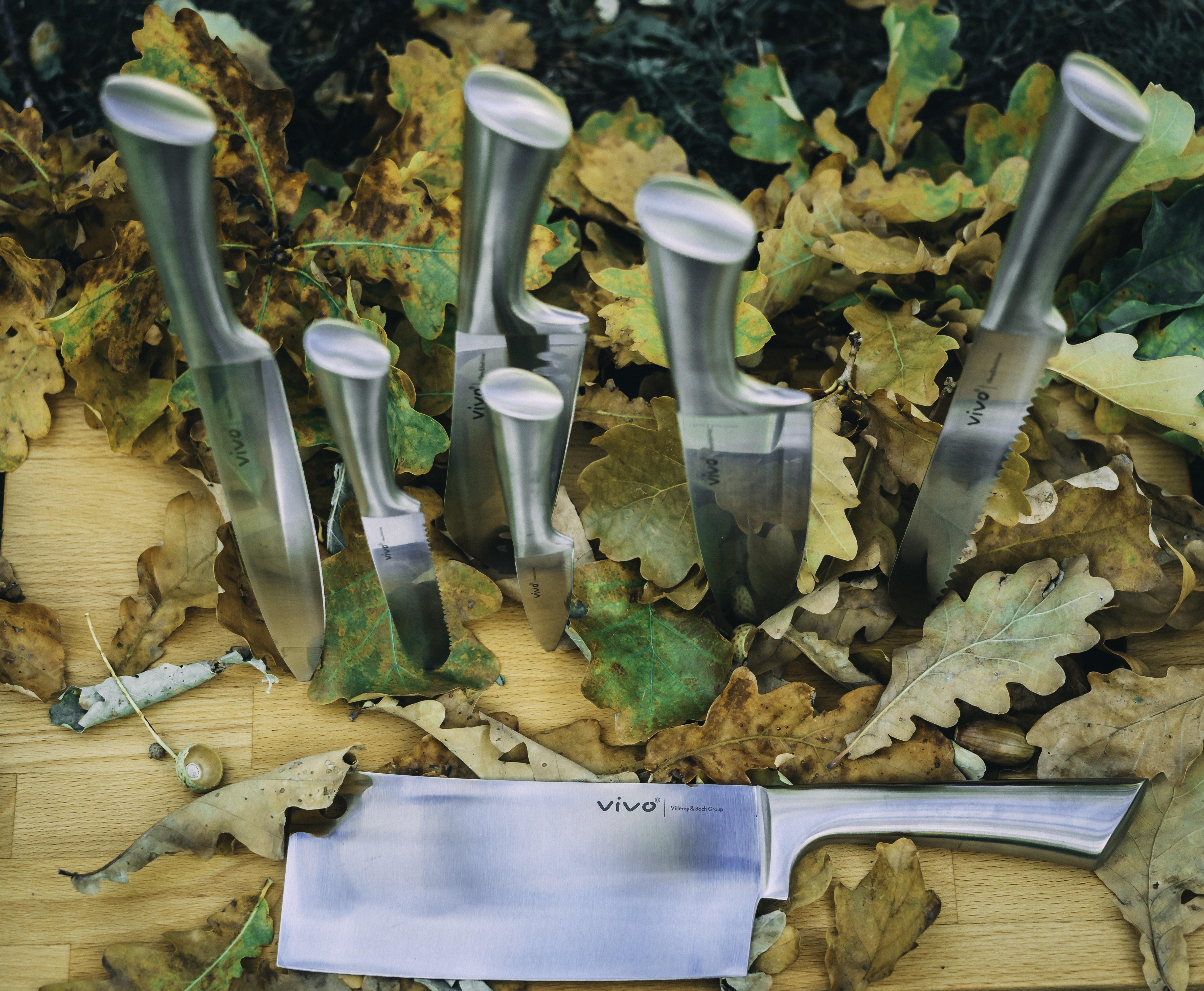 silver Vivo cutlery set