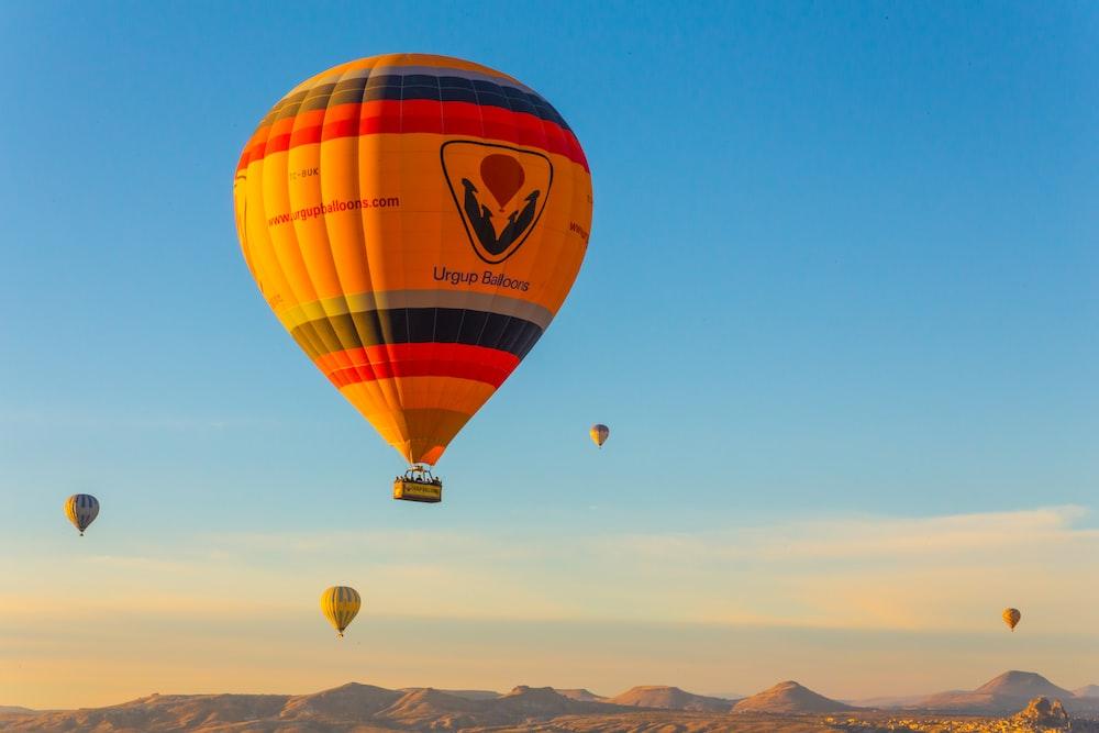 aerial photo of hot air ballooning during daytime