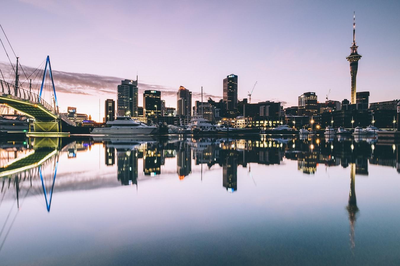 paisagem de Auckland, Nova Zelândia