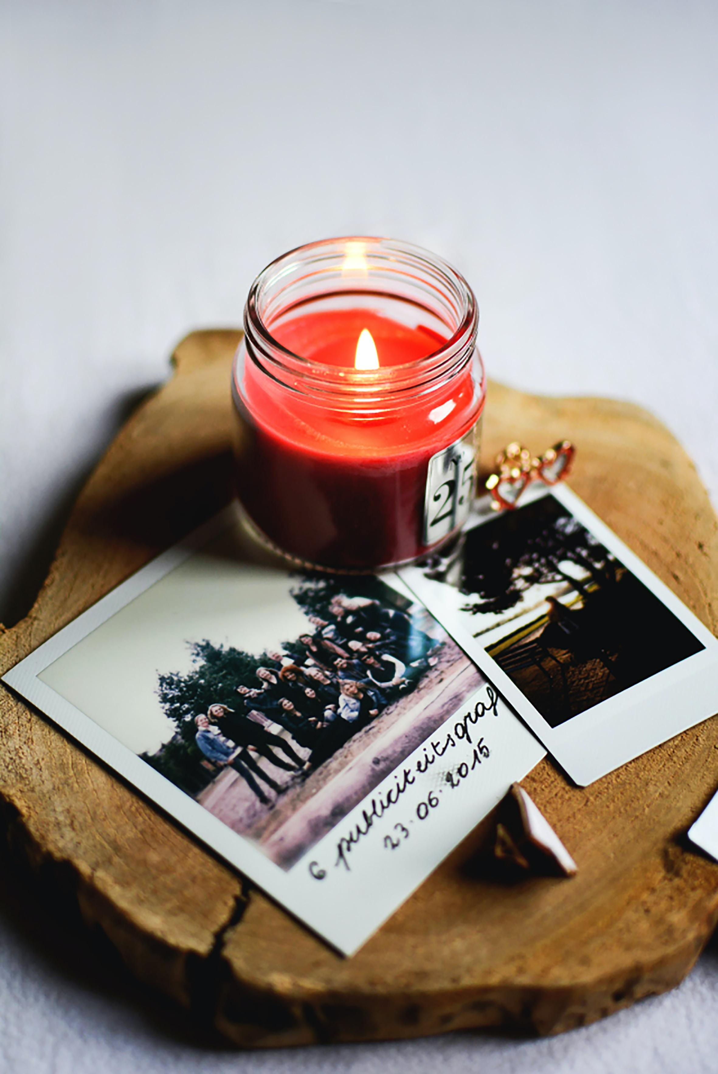 Bild: Fotos mit Kerze