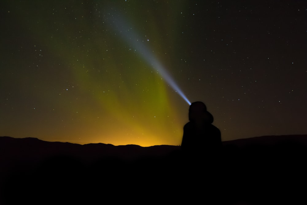 landscape photography of Northern lights