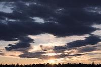 photography of sunrise