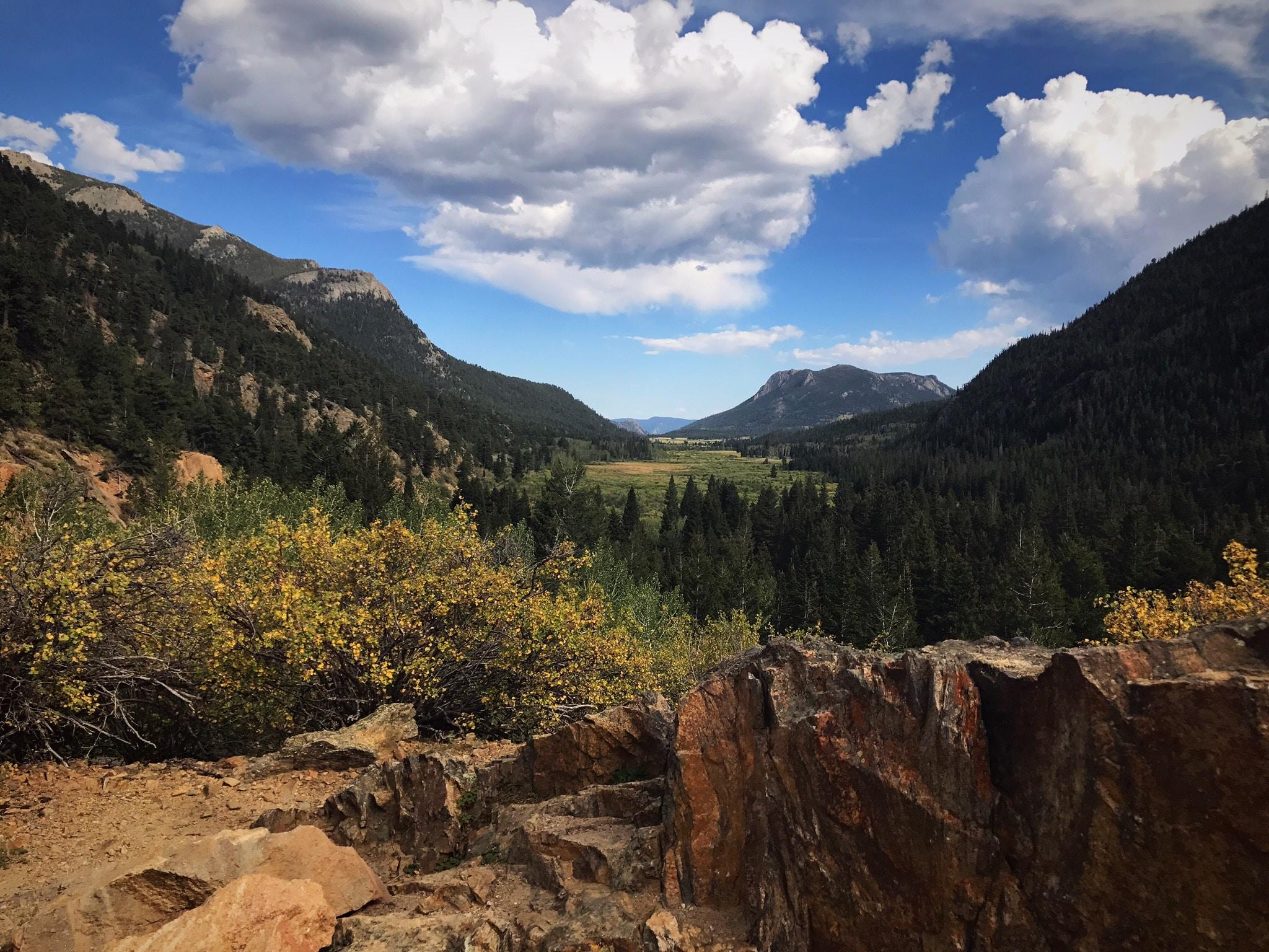 green mountain range under clear sky