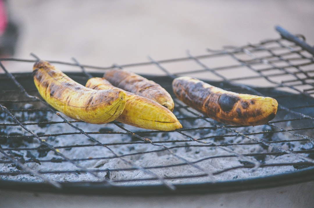 Grilling Plantain