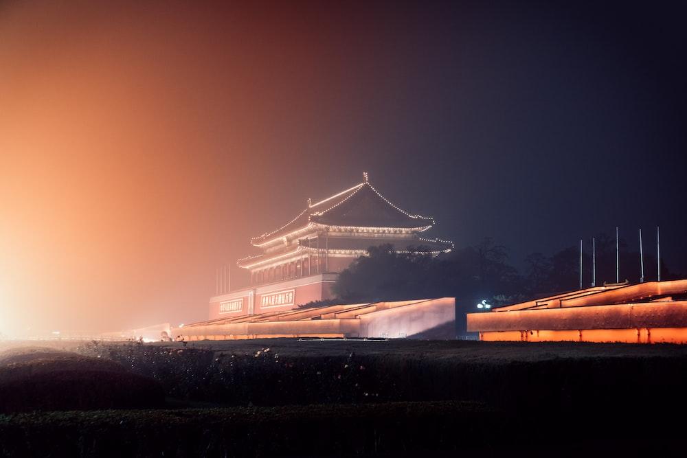 photography of pagoda