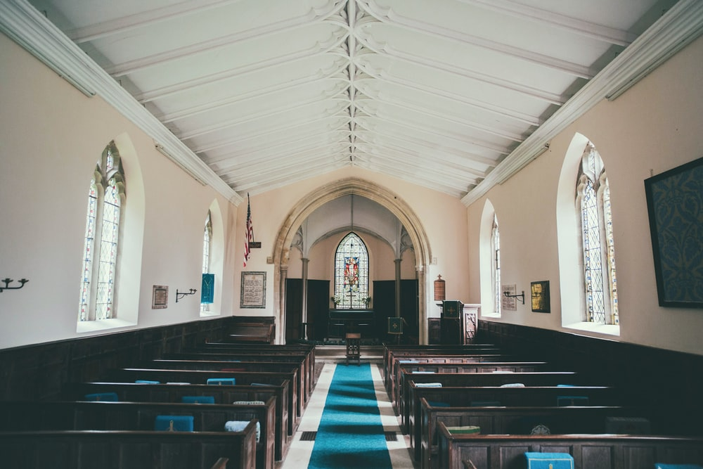 church indoor during during daytime