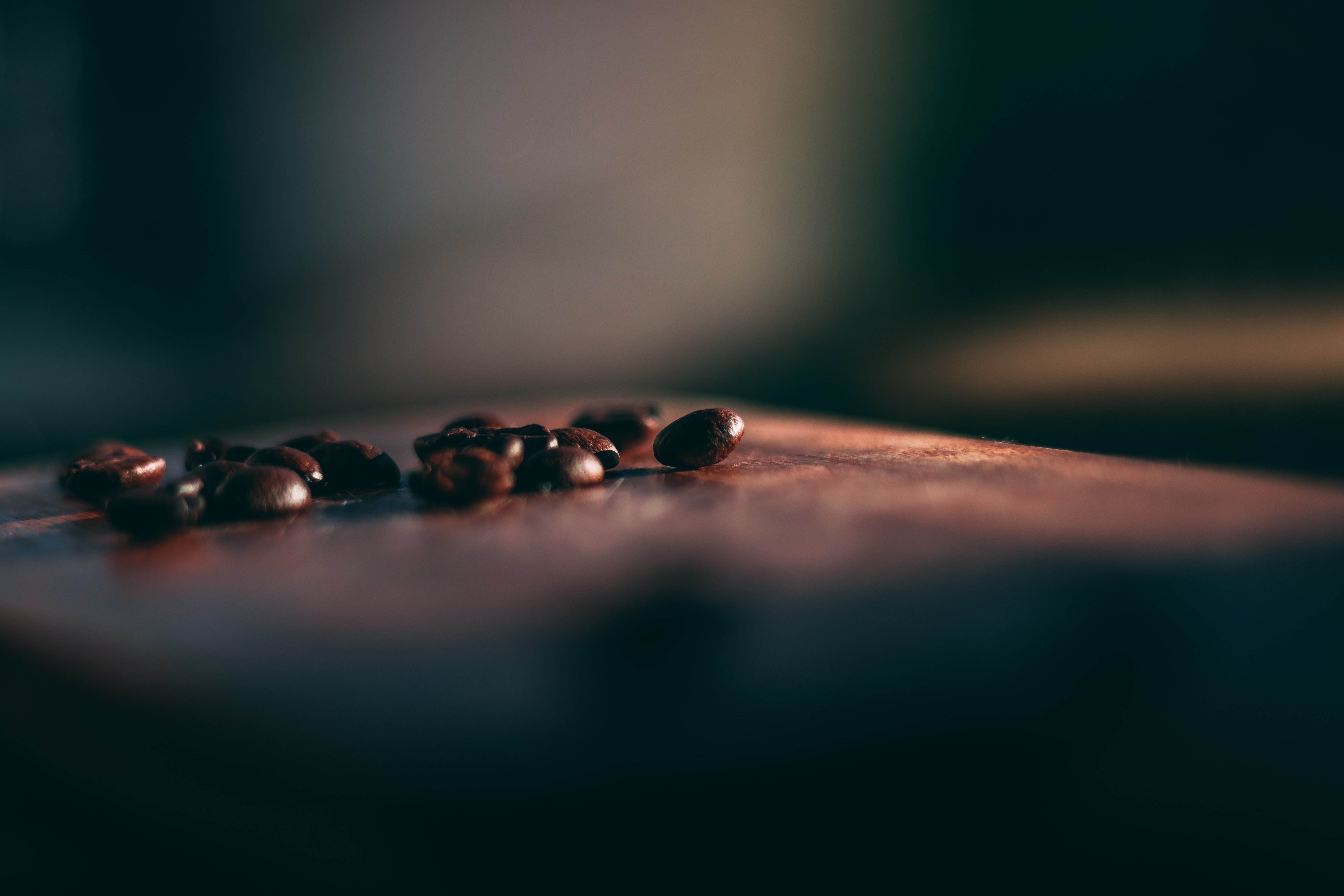selective focus photo of coffee beans