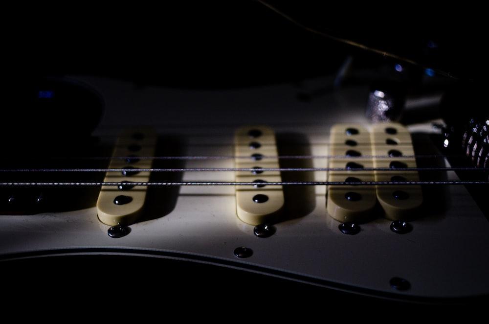 silver guitar strings