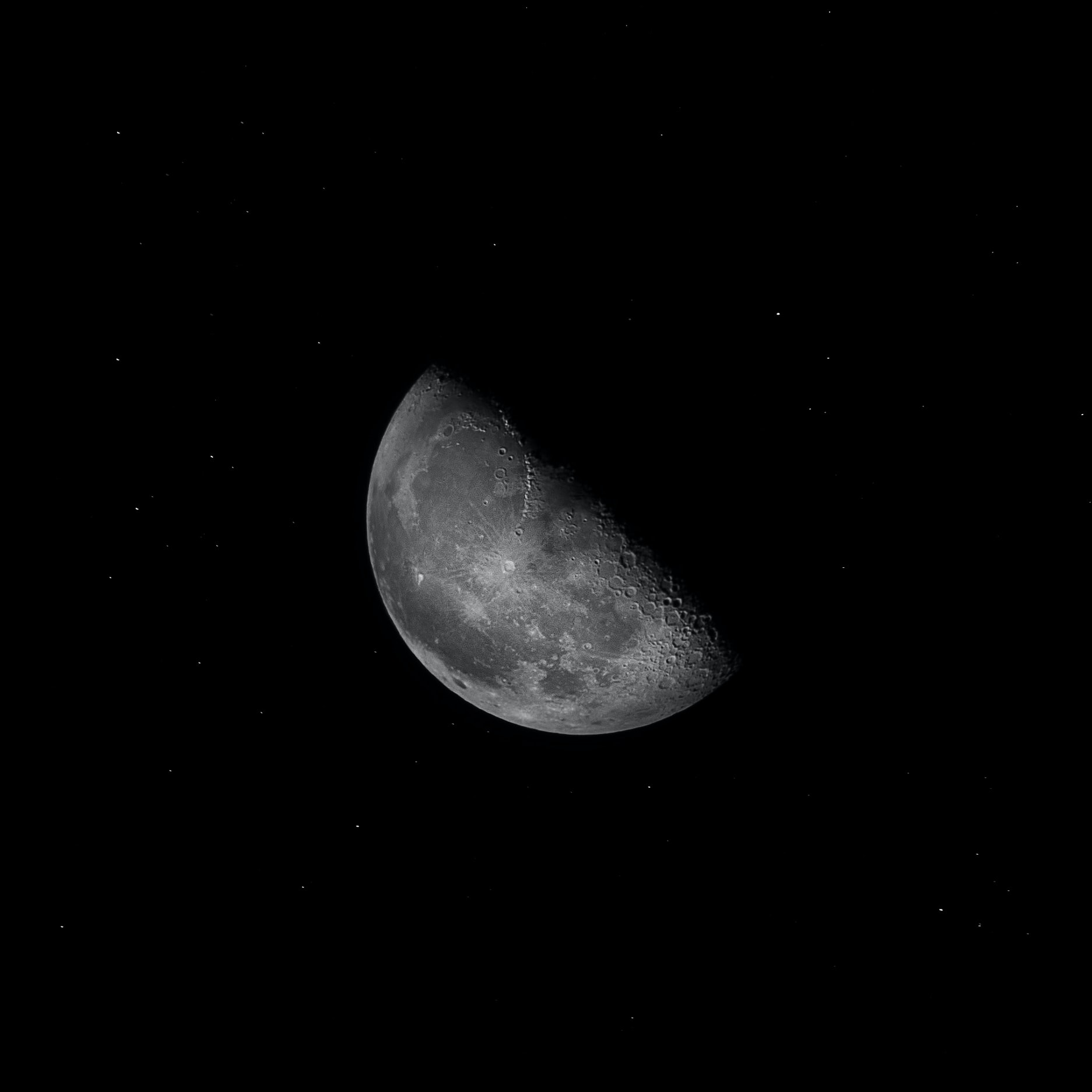 gray planet