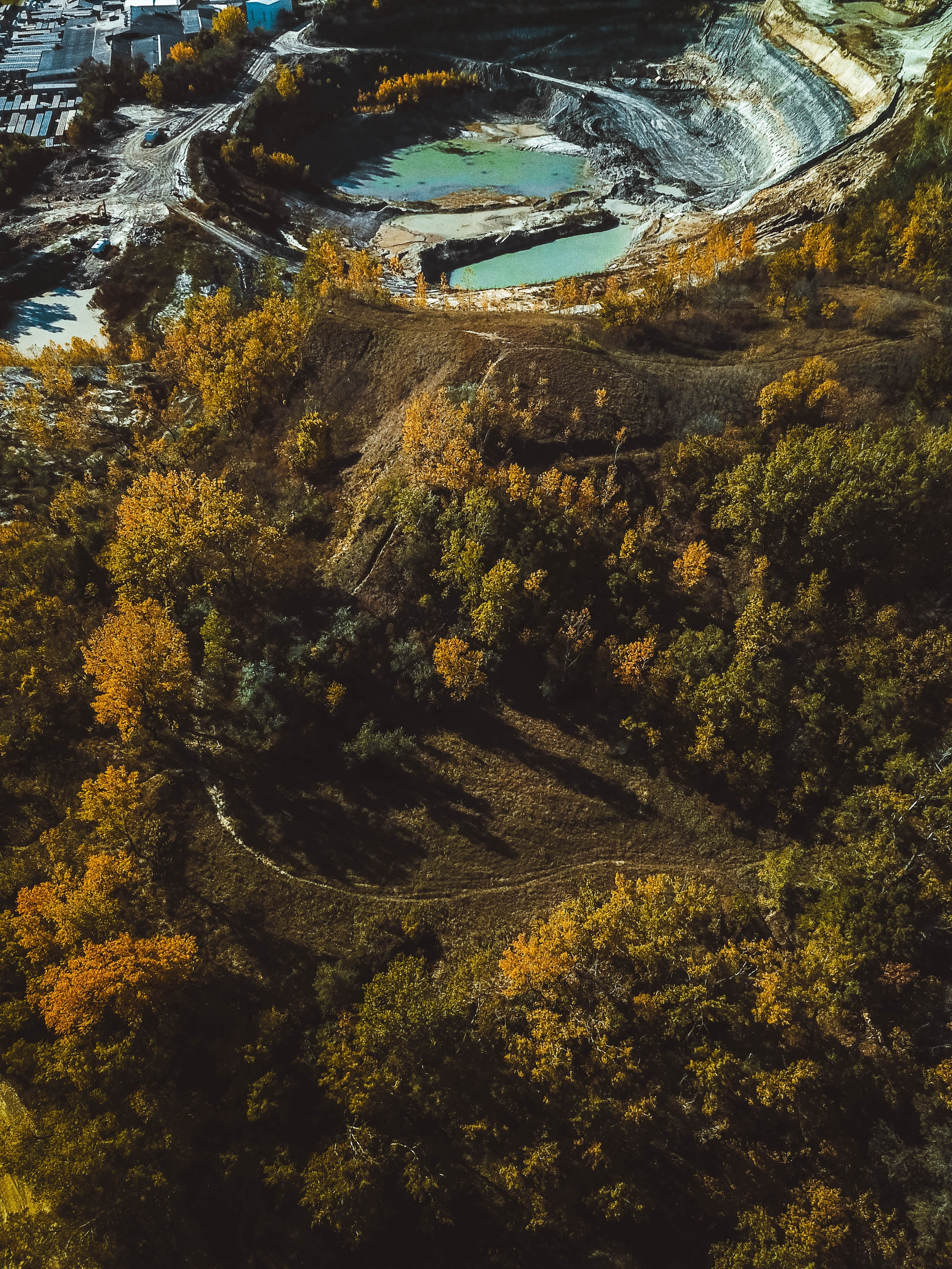 drone image landfill