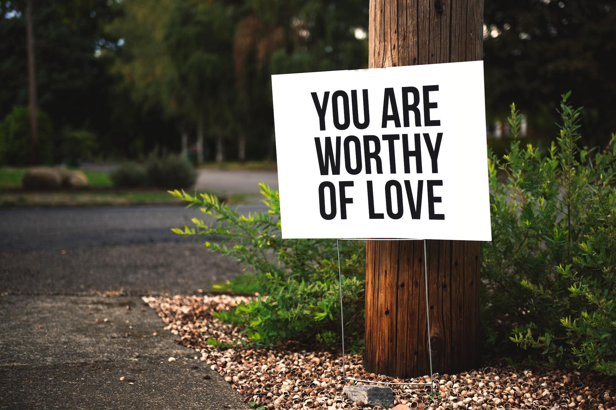 Worthy of Love | Instagram: @timmossholder