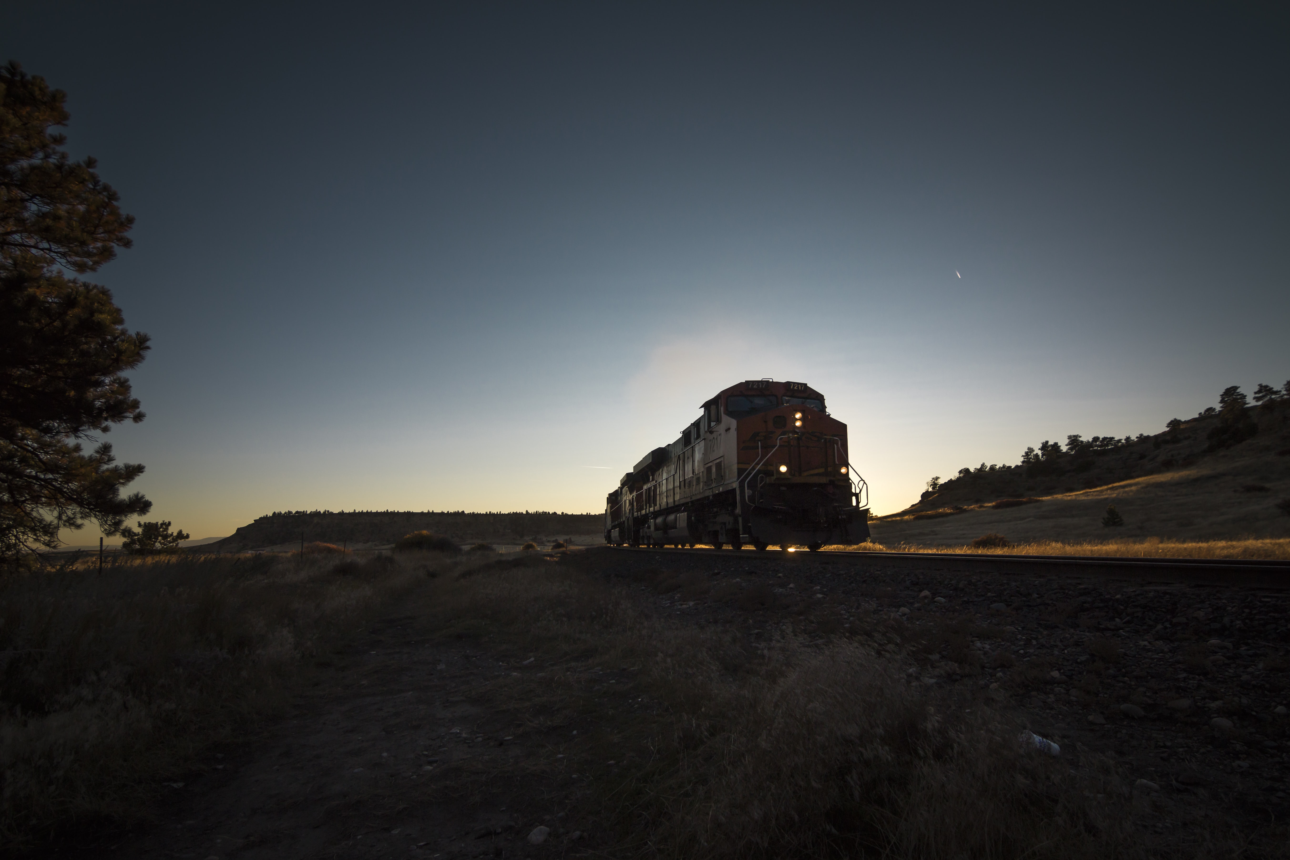 train travel during night