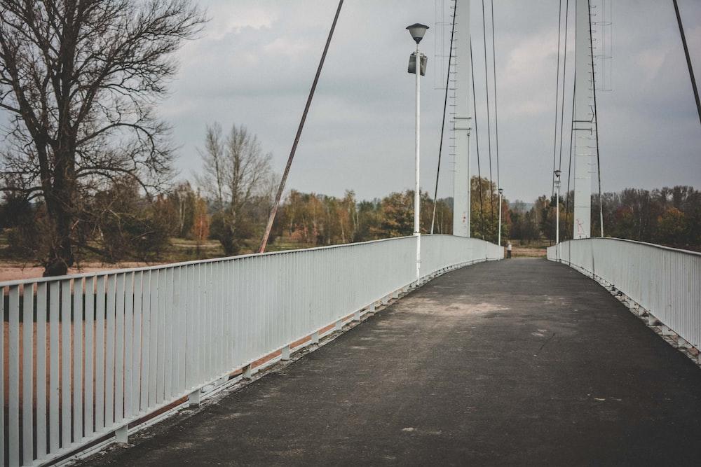 empty bridge at daytime