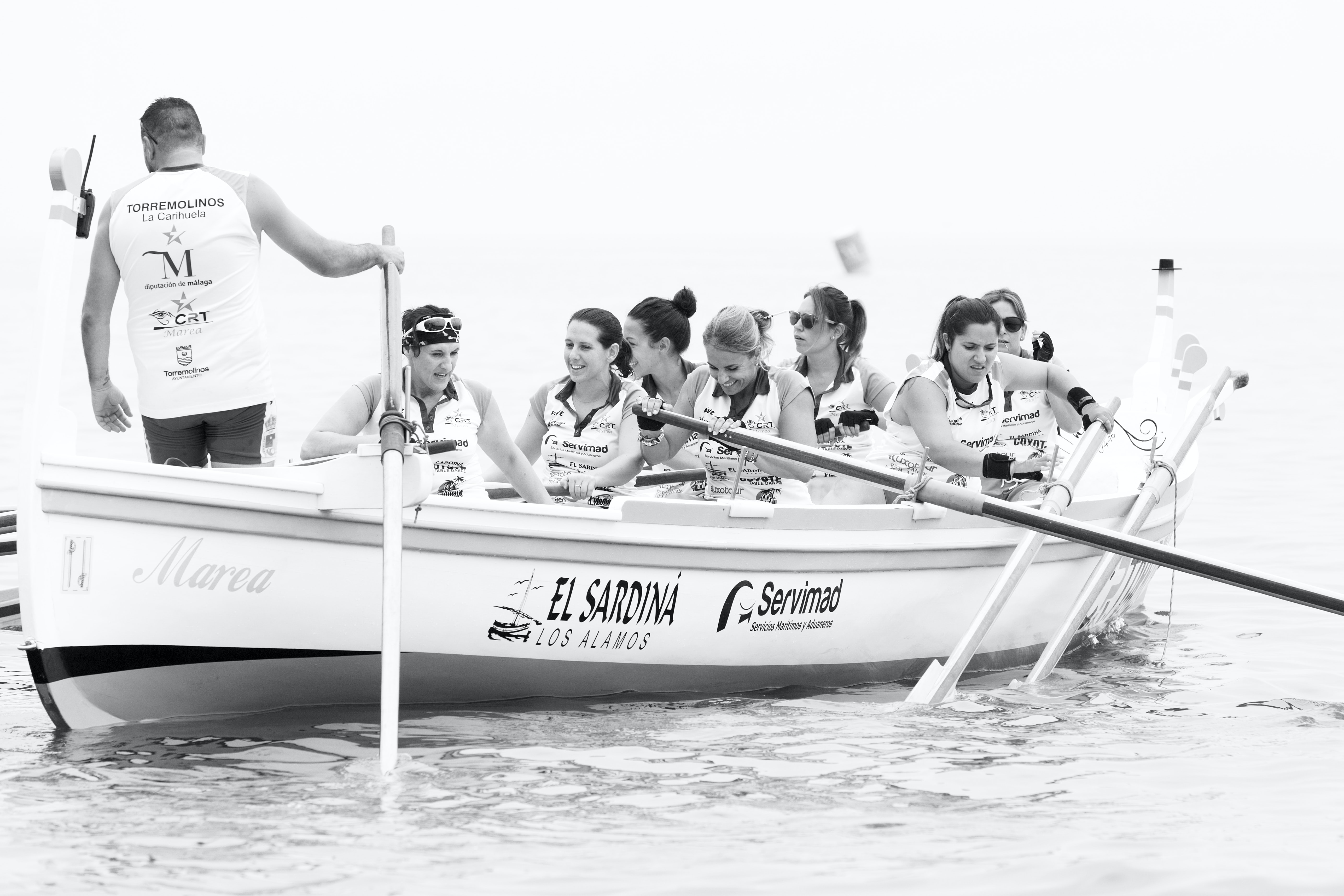 group of people dragon boating
