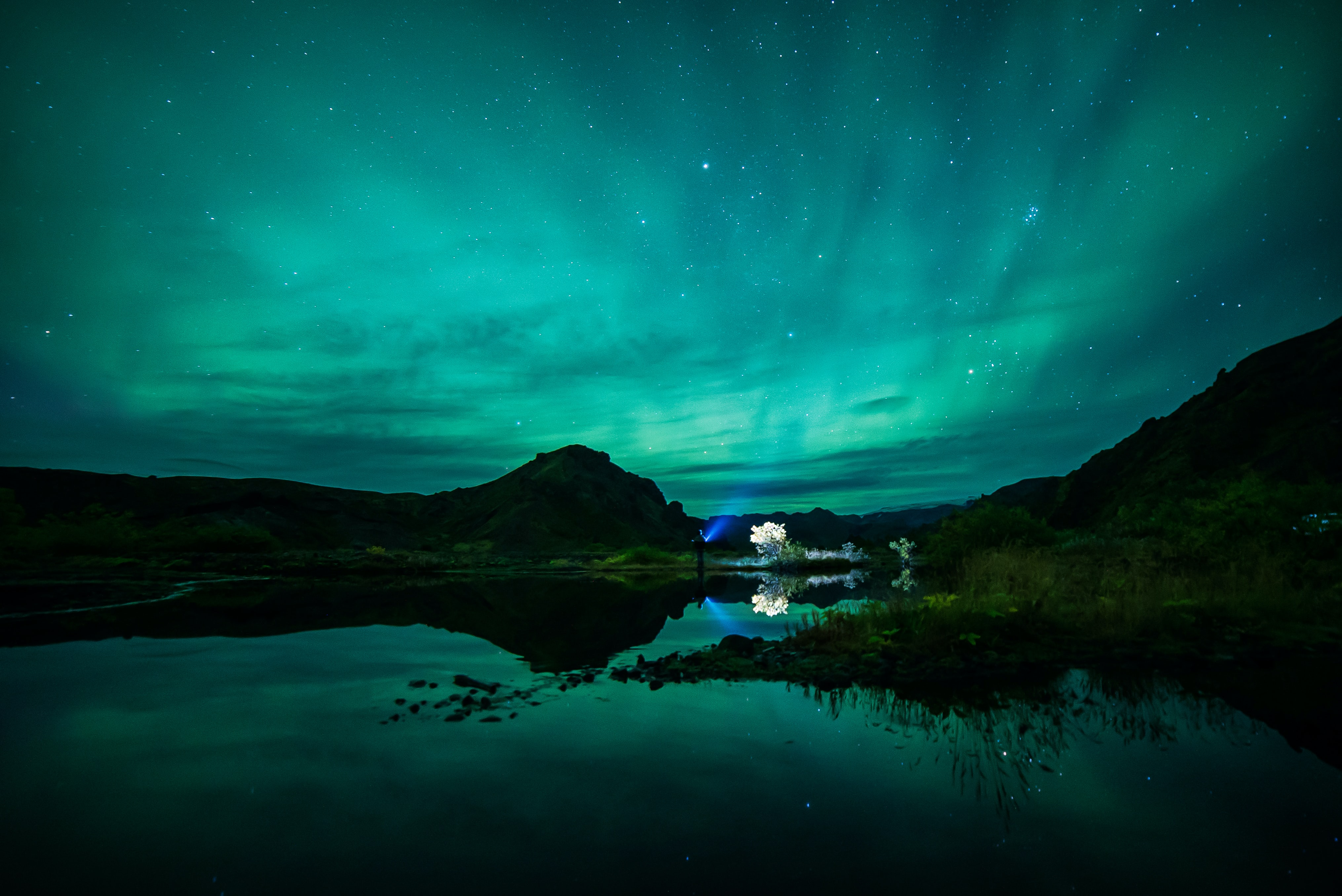 scenery of aurora