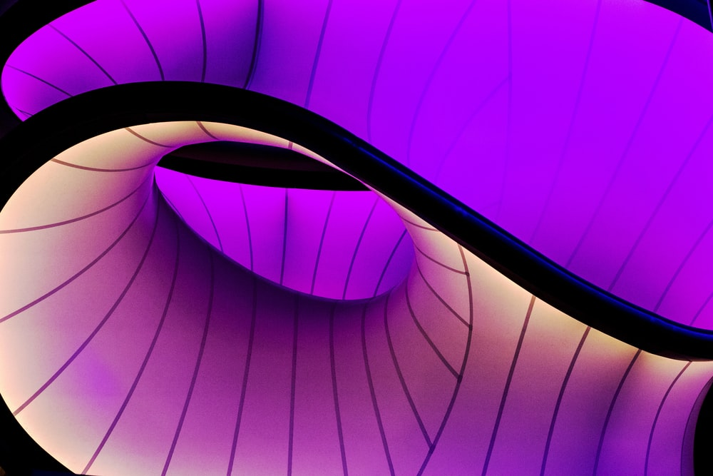 purple and black digital wallpaper