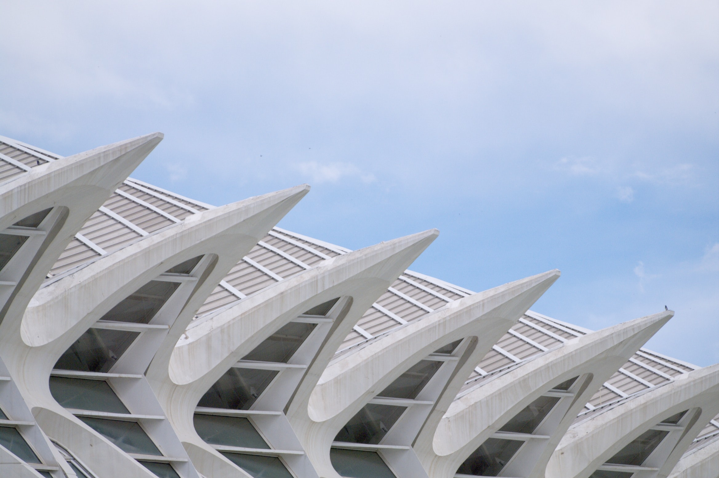 landscape of architectural building