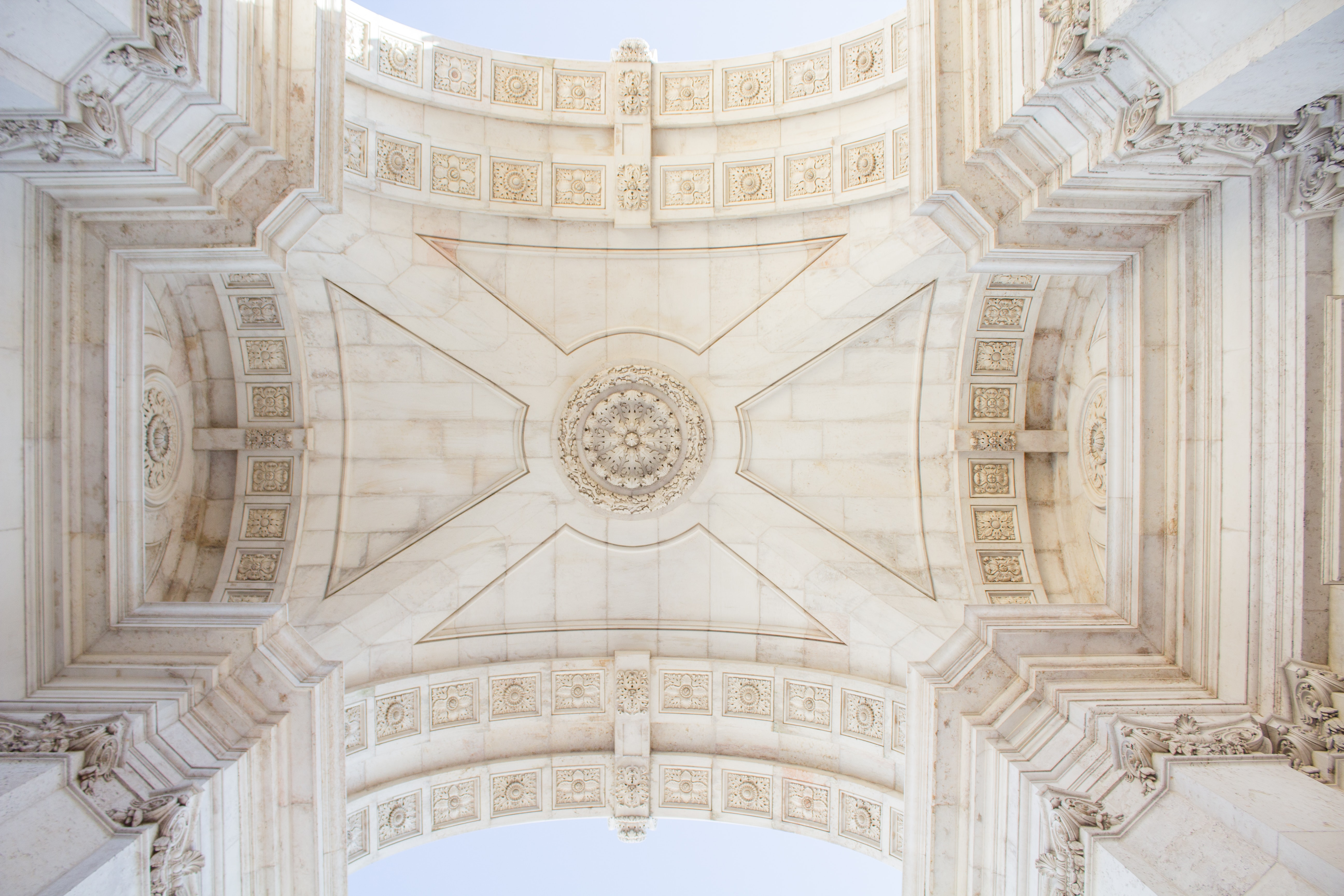 low angle photography of gothic structure