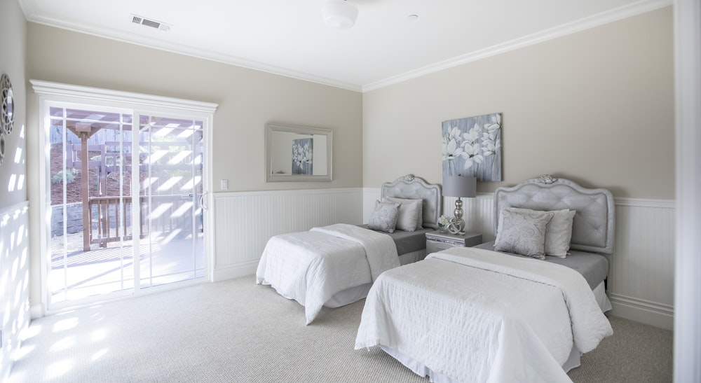 bedroom interior for two persons