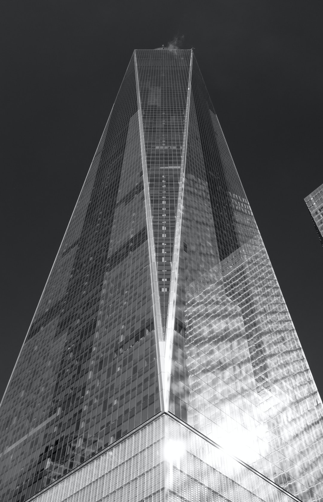 One of the coldest days I have ever experienced. Sunny, below freezing and the wind must have been blowing 50 mph through lower Manhattan. As we exited the 9/11 Memorial, I had to capture this image of the Freedom Tower, frozen in time.