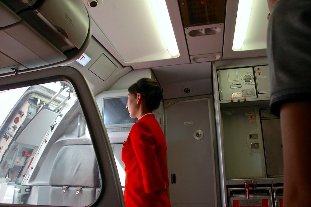 woman standing indoor